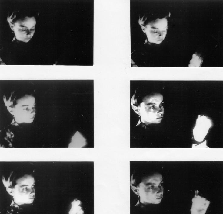 10.arrêts sur image femme avec cristal