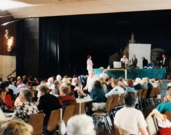 Bühne+ publikum+ marle