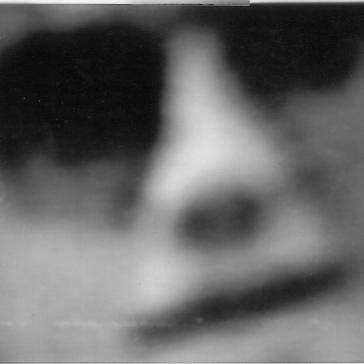Paranormales Bild über den Fernsehgenerator empfangen